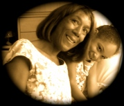 Ariana-Leilani and her mother Dr. Ariel King